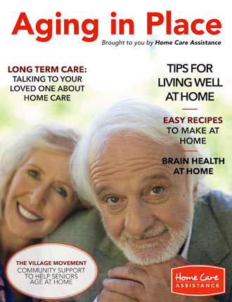 Home Care Assistance Aging In Place Magazine Cover