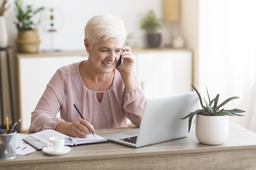 Can Aging Adults Work from Home in Richmond, VA